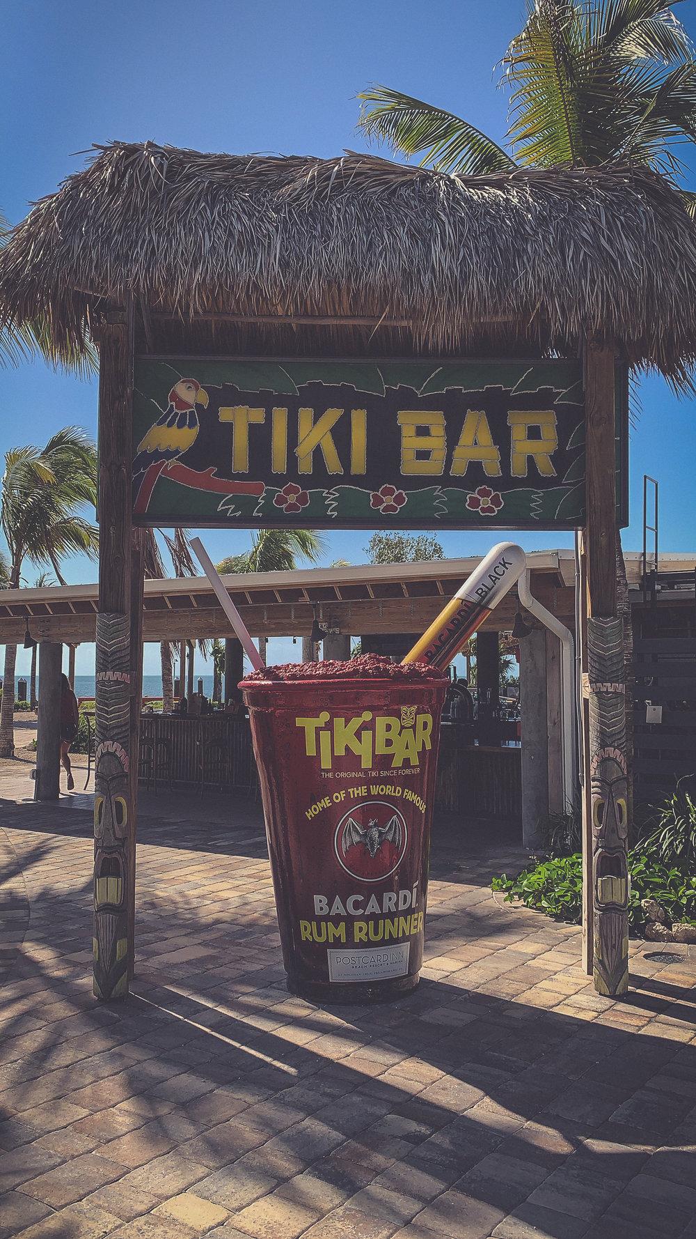 Holiday Isle Tiki Bar at Postcard Inn