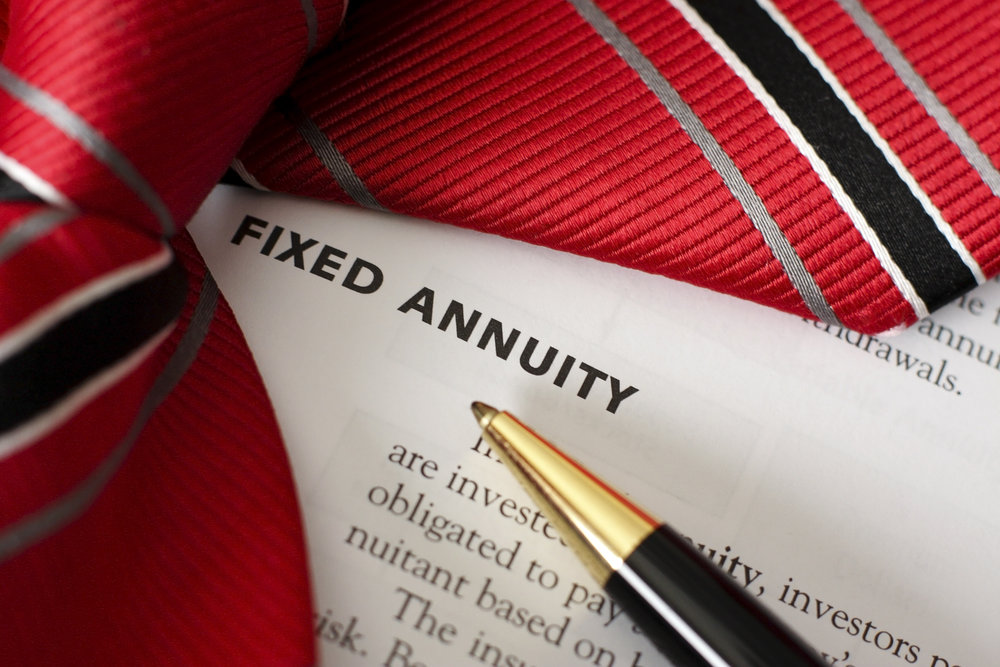 Fixed Annuities - •Gives you a fixed rate of return•Enjoys tax-free benefits just like 401k