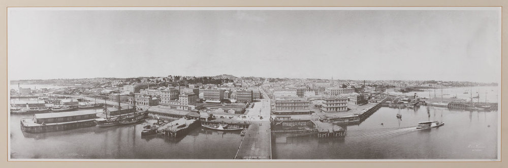 The old Auckland waterfront. Image credit: Brian Macken.