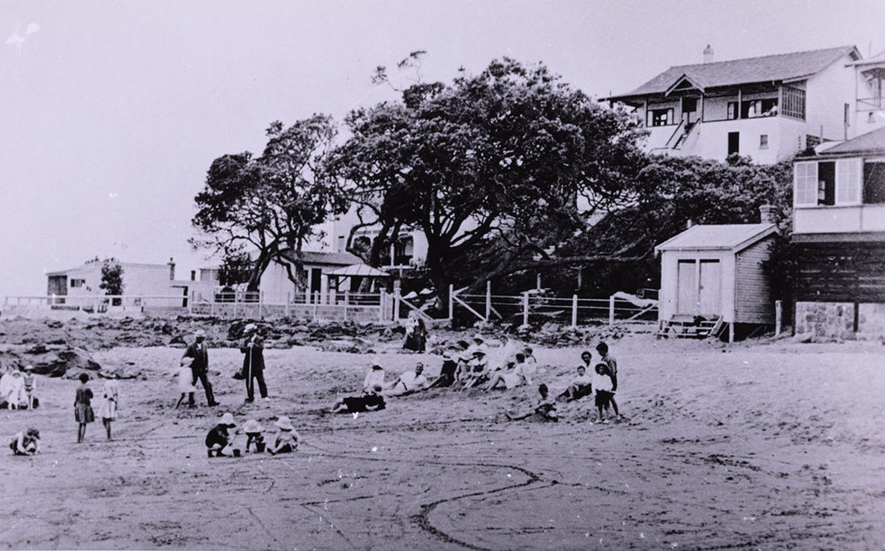 Thorne's Bay 1927. Image credit: Angela Te Wiata.