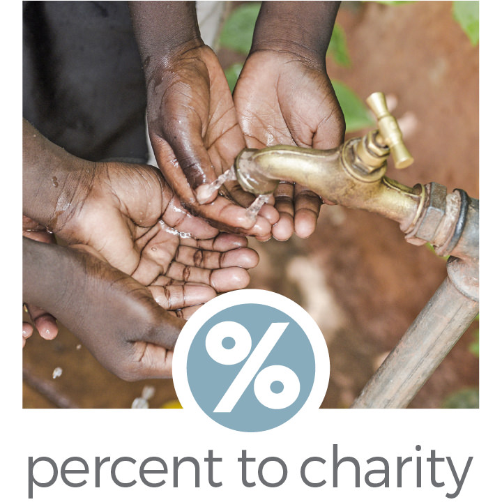 companies that donate a percent to charity