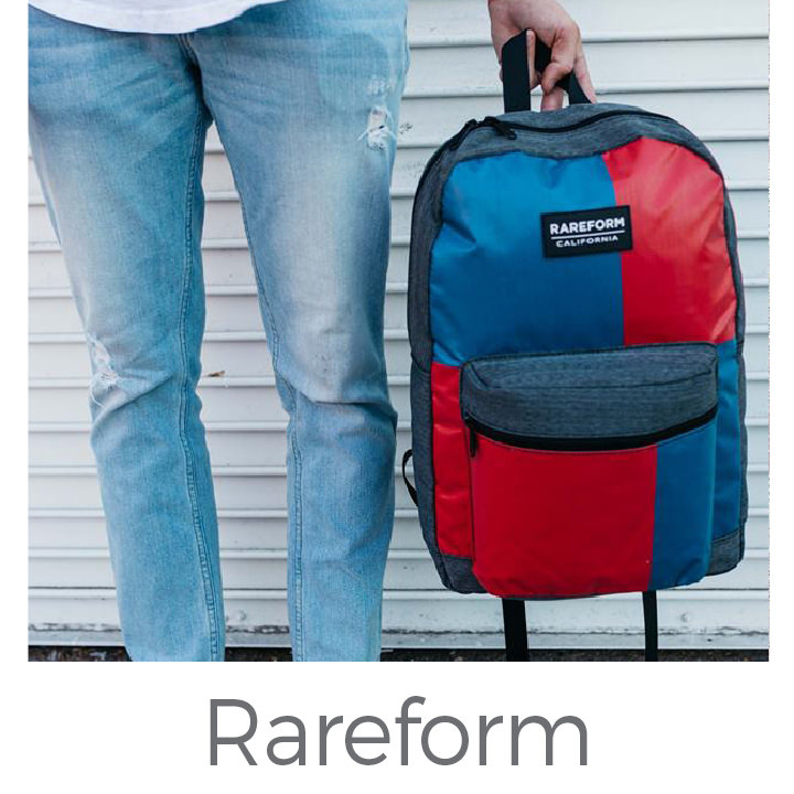 Rareform upcycled bags
