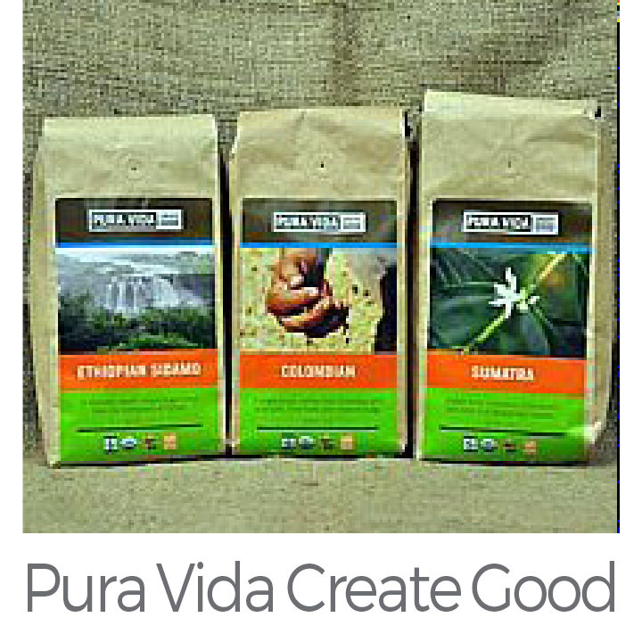 Pura Vida Create Good a business for social responsibility