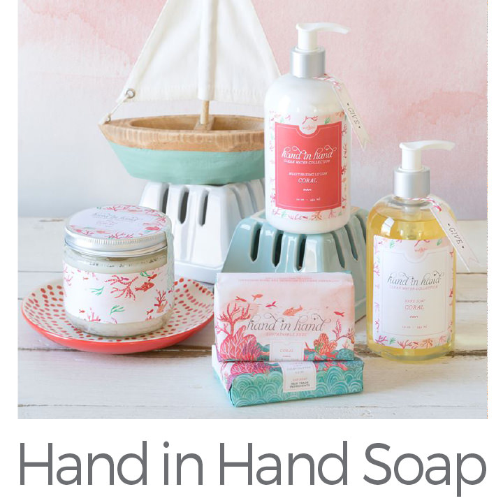 Hand in Hand Soap giving clean water