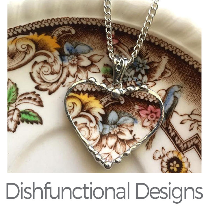 Dishfunctional Designs recycled jewelry