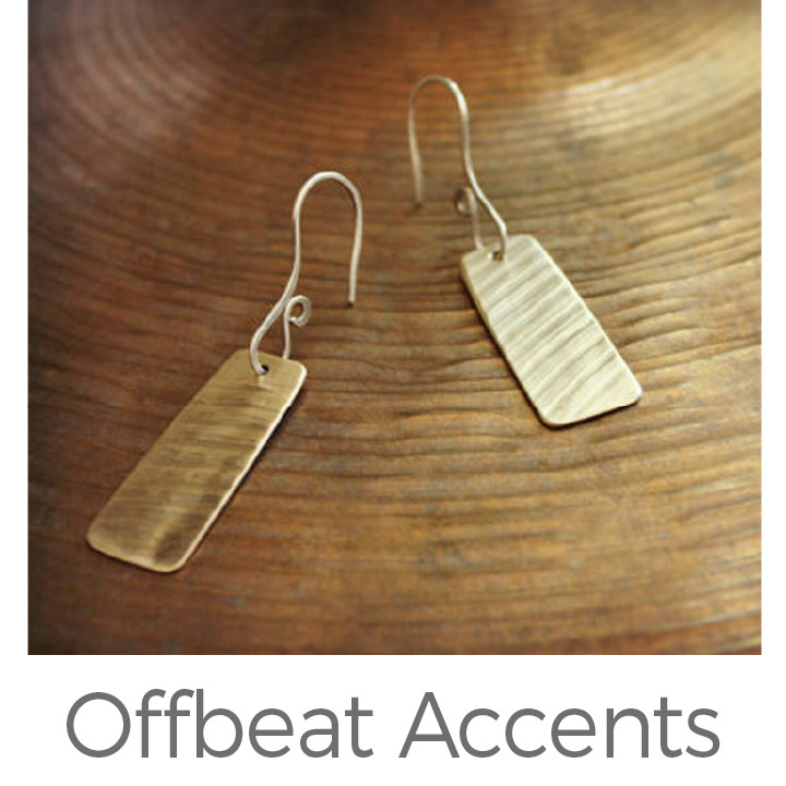 Offbeat Accents upcycled jewelry
