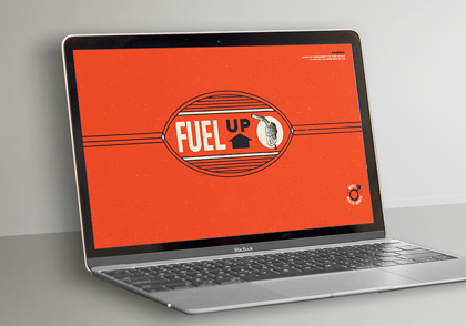 Fuel up wallpaper