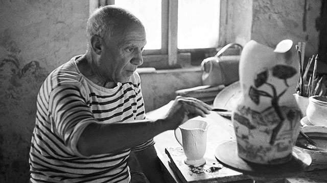 """Inspiration exists, but it has to find us working."" -  – Pablo Picasso"