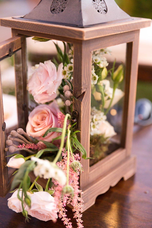 Delightful floral arrangement at A La Mode Events