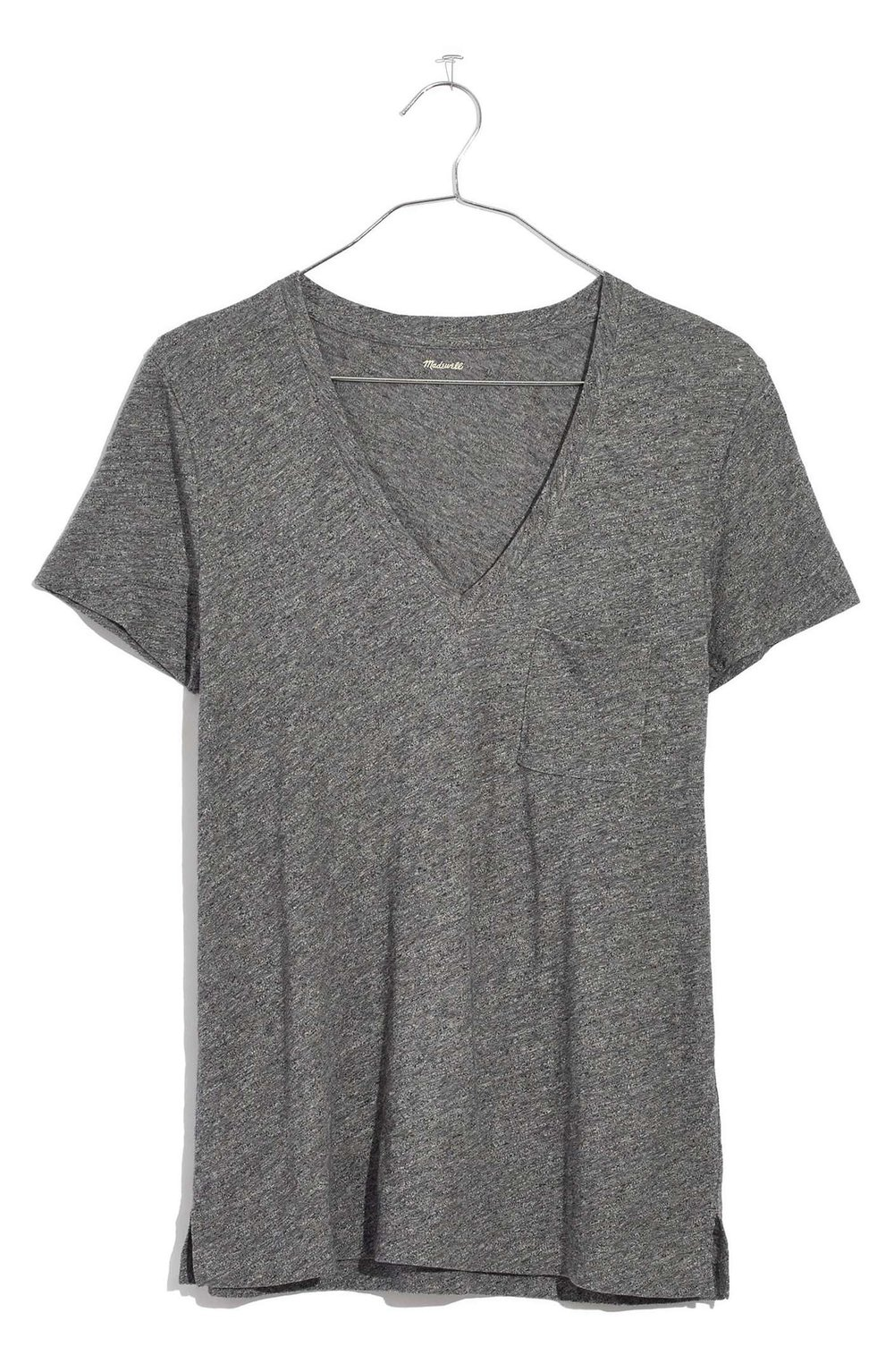 MADEWELL Cotton V-Neck