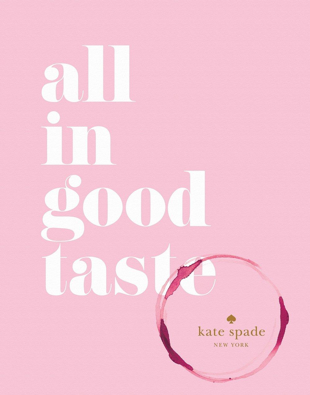 Kate Spade Cook Book