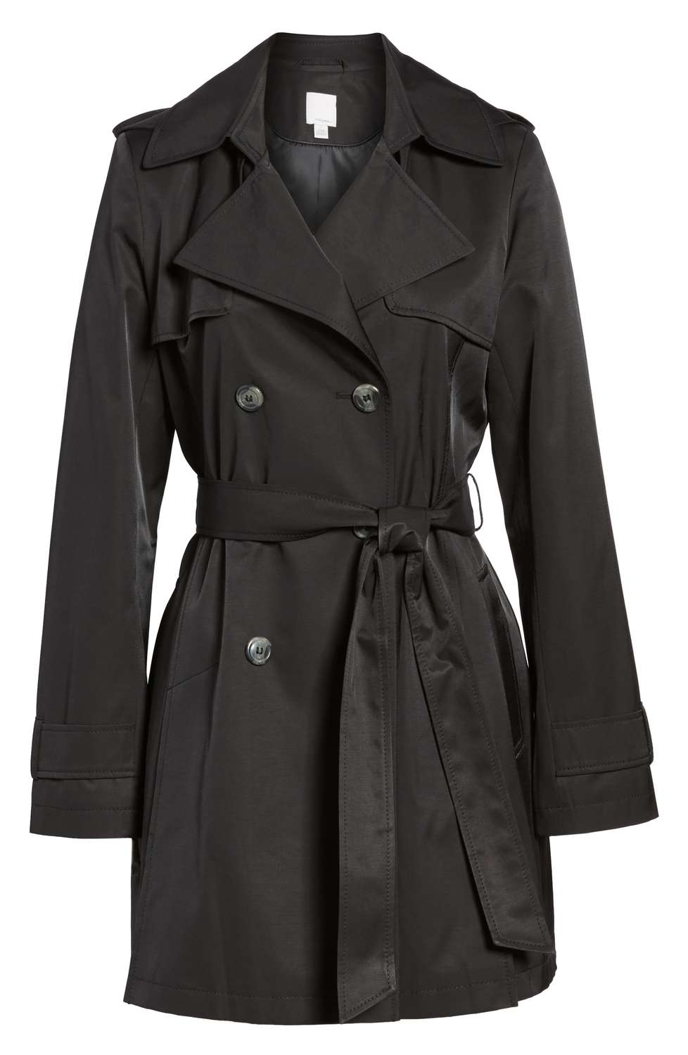 Halogen trench coat