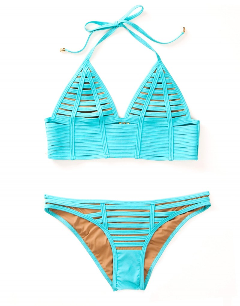 Beach Bunny Hard Summer swimsuit top