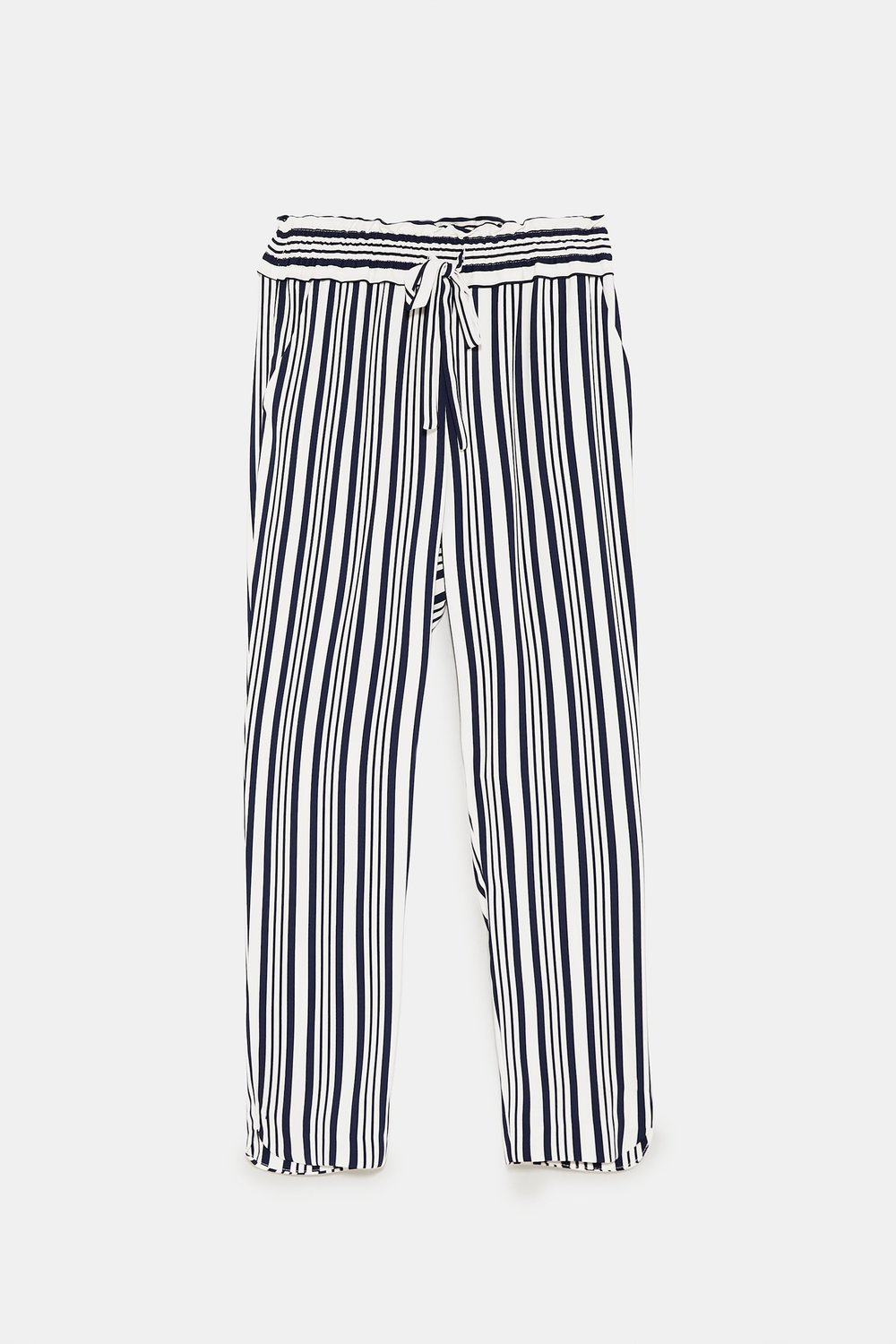 Zara loose fit stripe pants