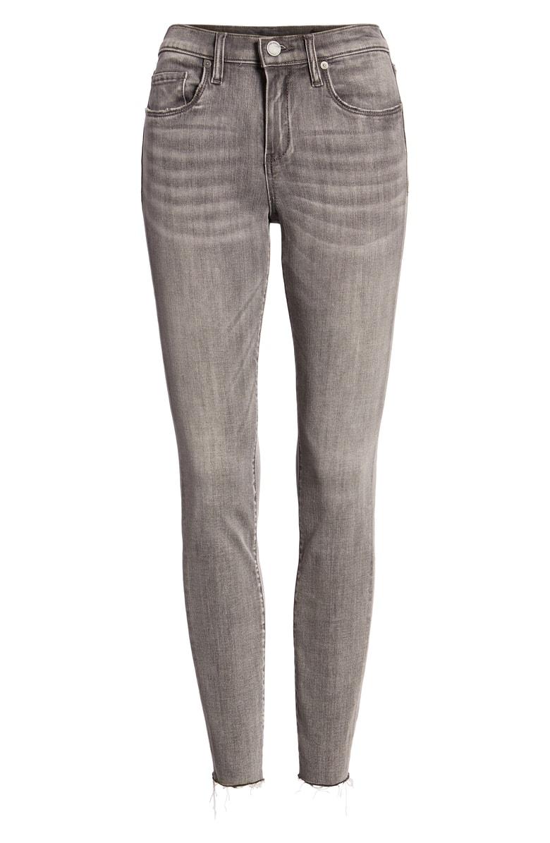 BlankNYC Raw Hem Skinny Jeans