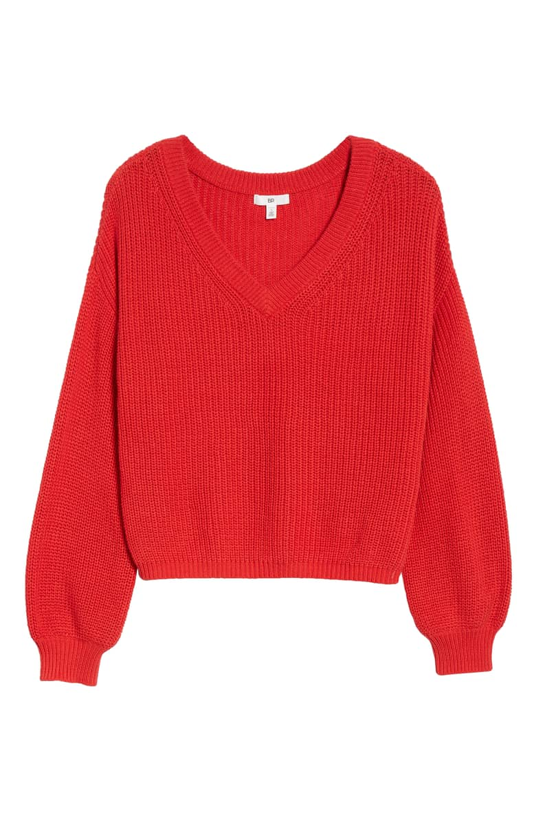 B.P. V neck sweater