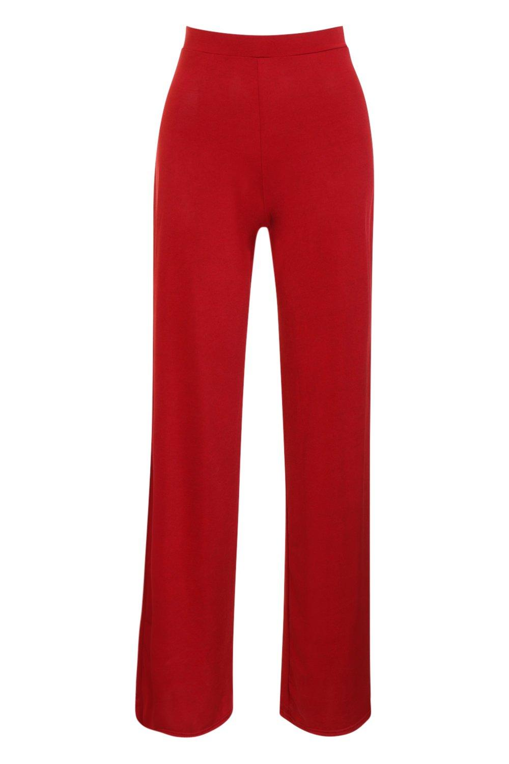 Disco Slinky Wide Leg Trousers