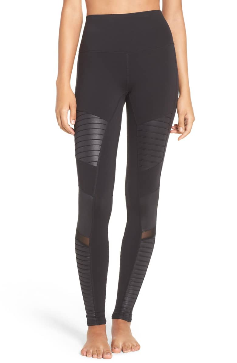 Alo High Waist Moto Leggings