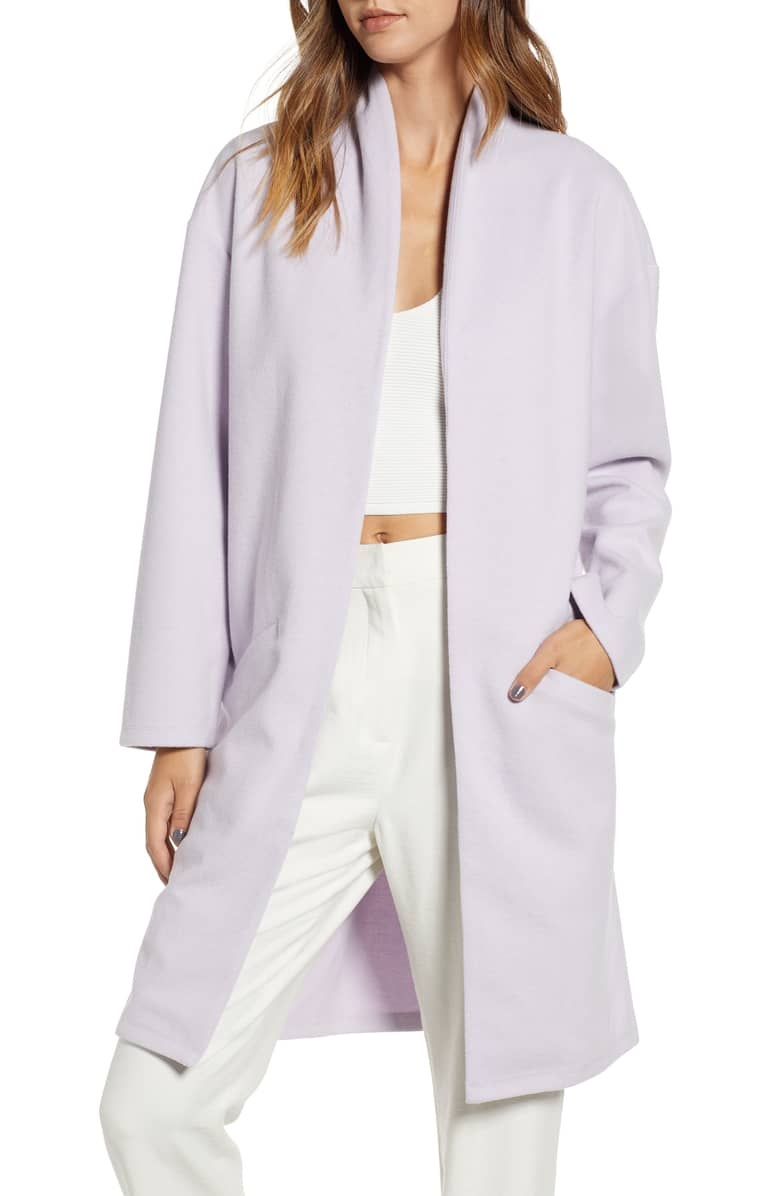 Leith Open Front Midi Coat