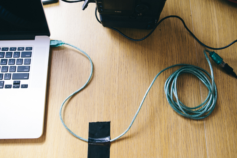 Camera teather cable-7
