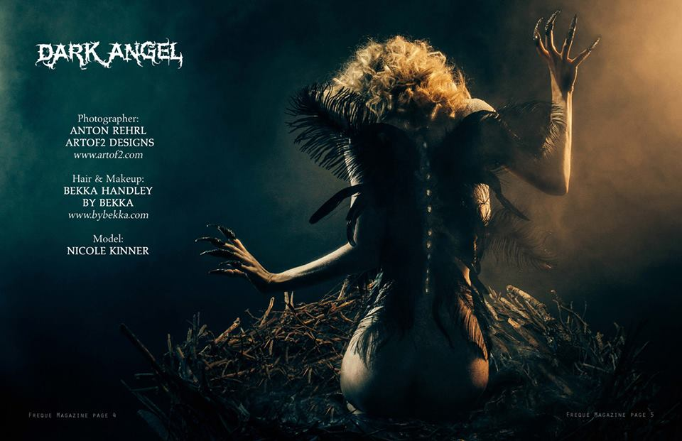 Dark Angel - Freque Magazine Tear sheet 2