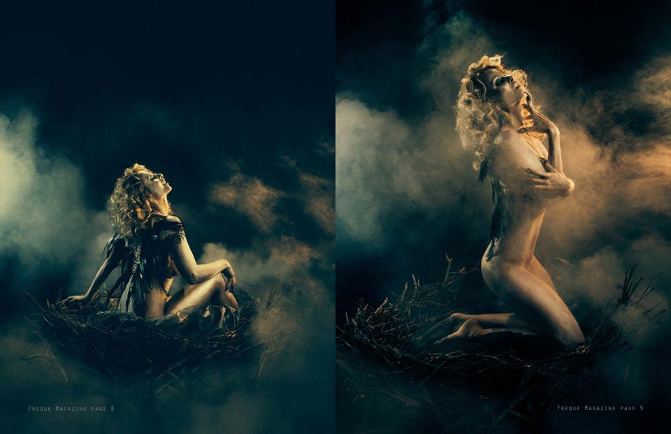 Dark Angel - Freque Magazine Tear sheet 3
