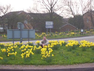 Me in flowers
