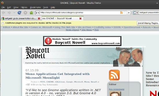 Boycott Novell