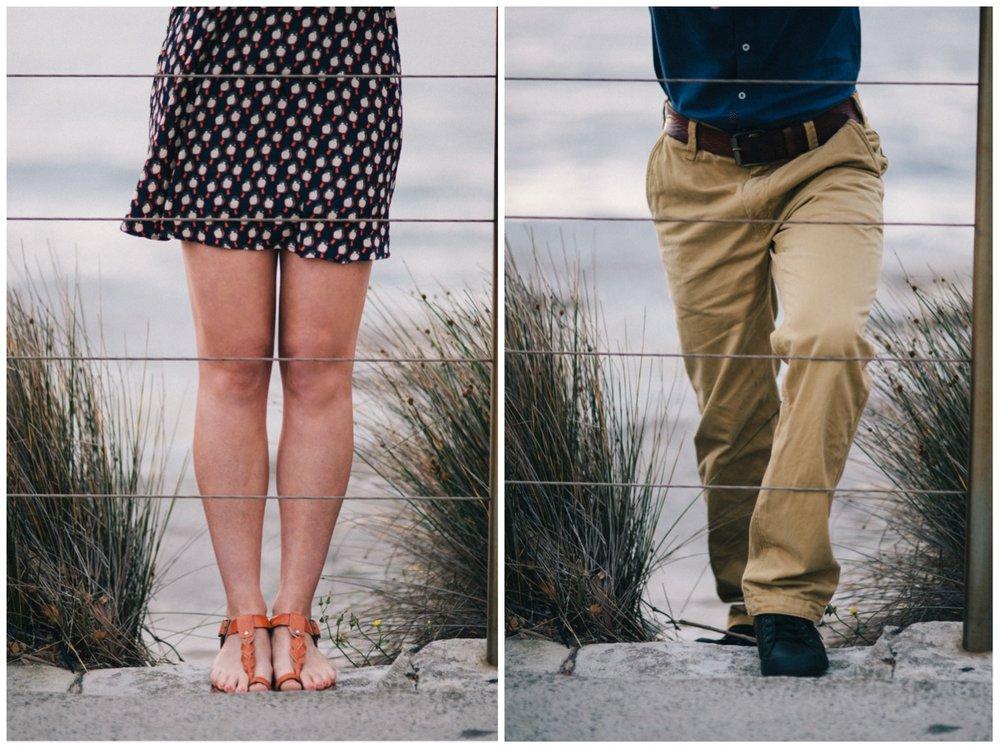 Ellie + Martin legs