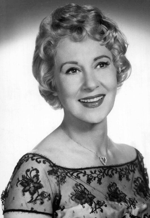 Arlene Francis 1958 wearing Diamond Heart Given to her by Husband Gabel.JPG