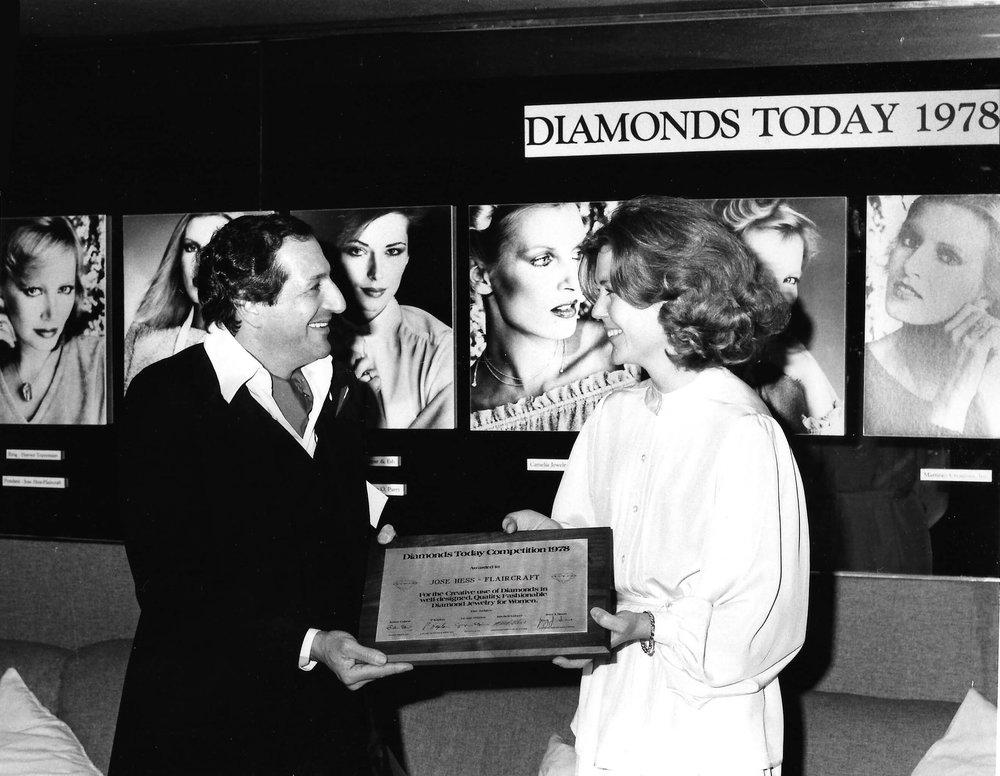 JH Diamonds Today Award 1978.jpg