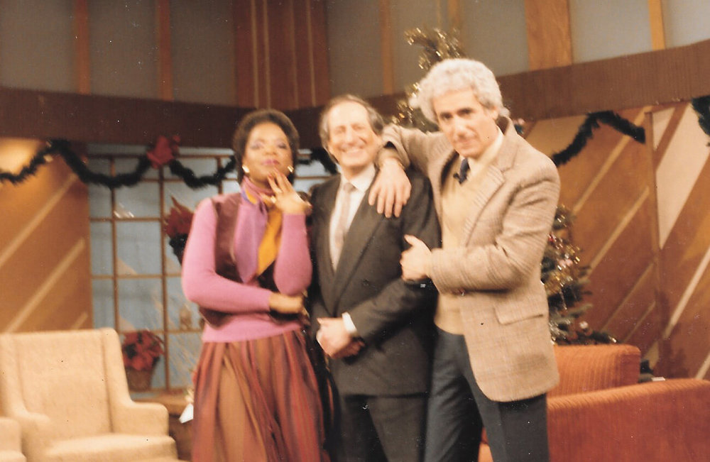 Jose Hess and Oprah Winfrey and Richard Sher 1982.jpg