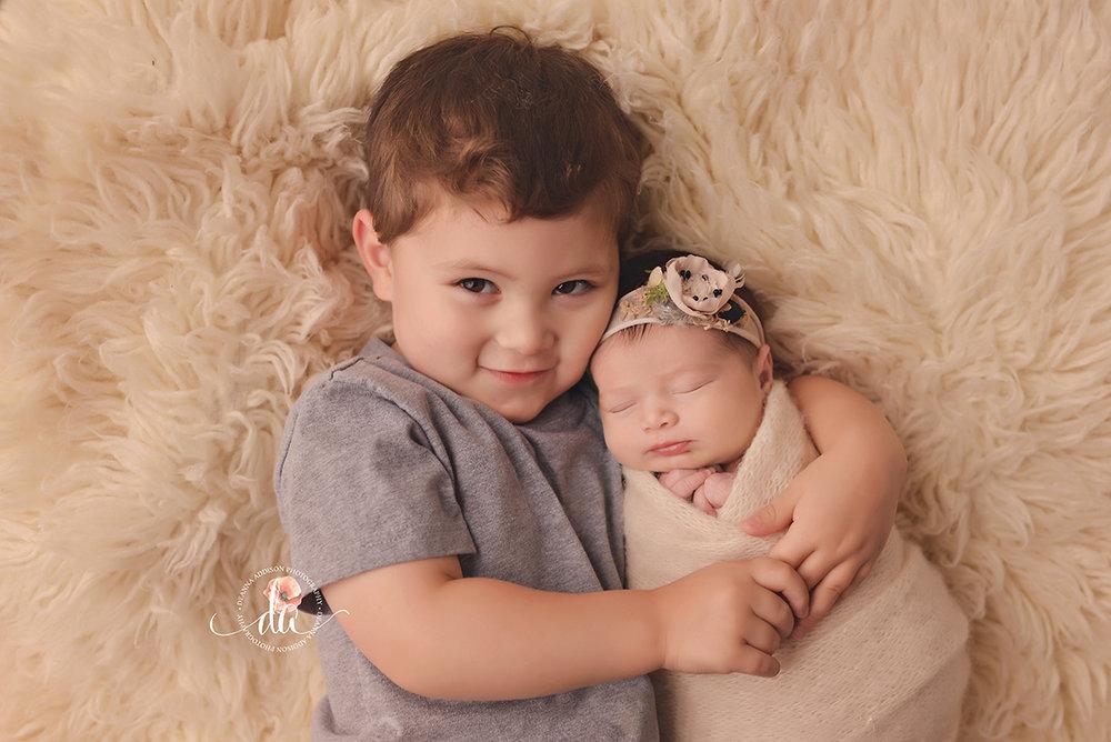 Houston newborn photographer spring newborn photographer