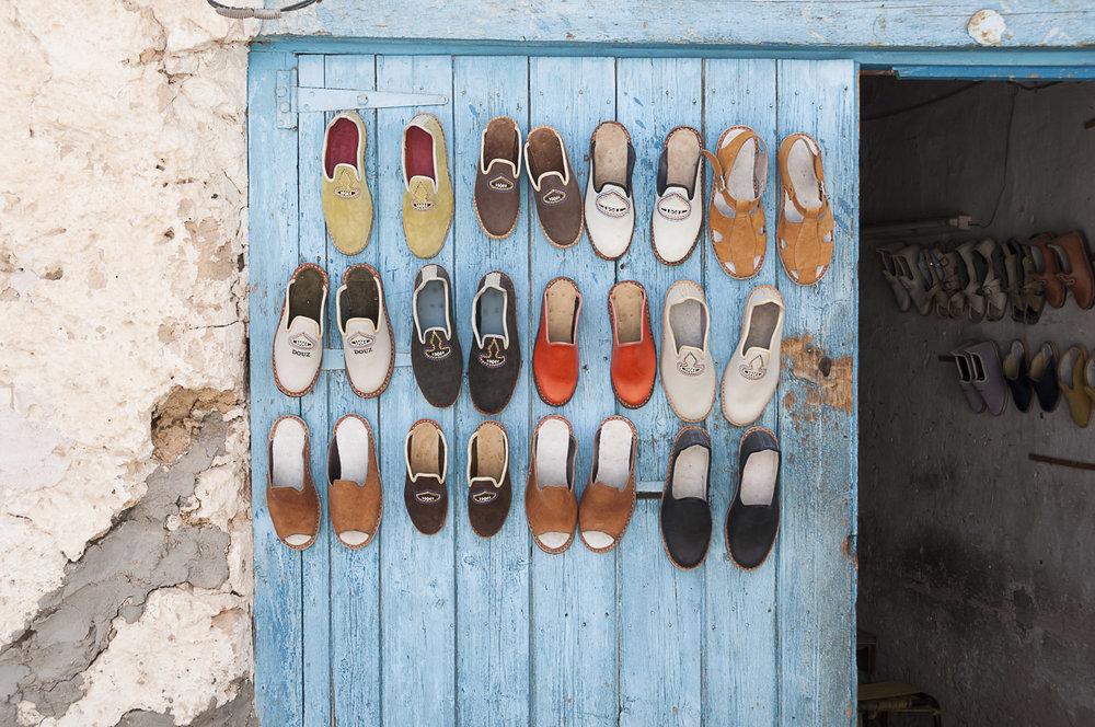 Shoe Store, Douz, Tunisia, 2012