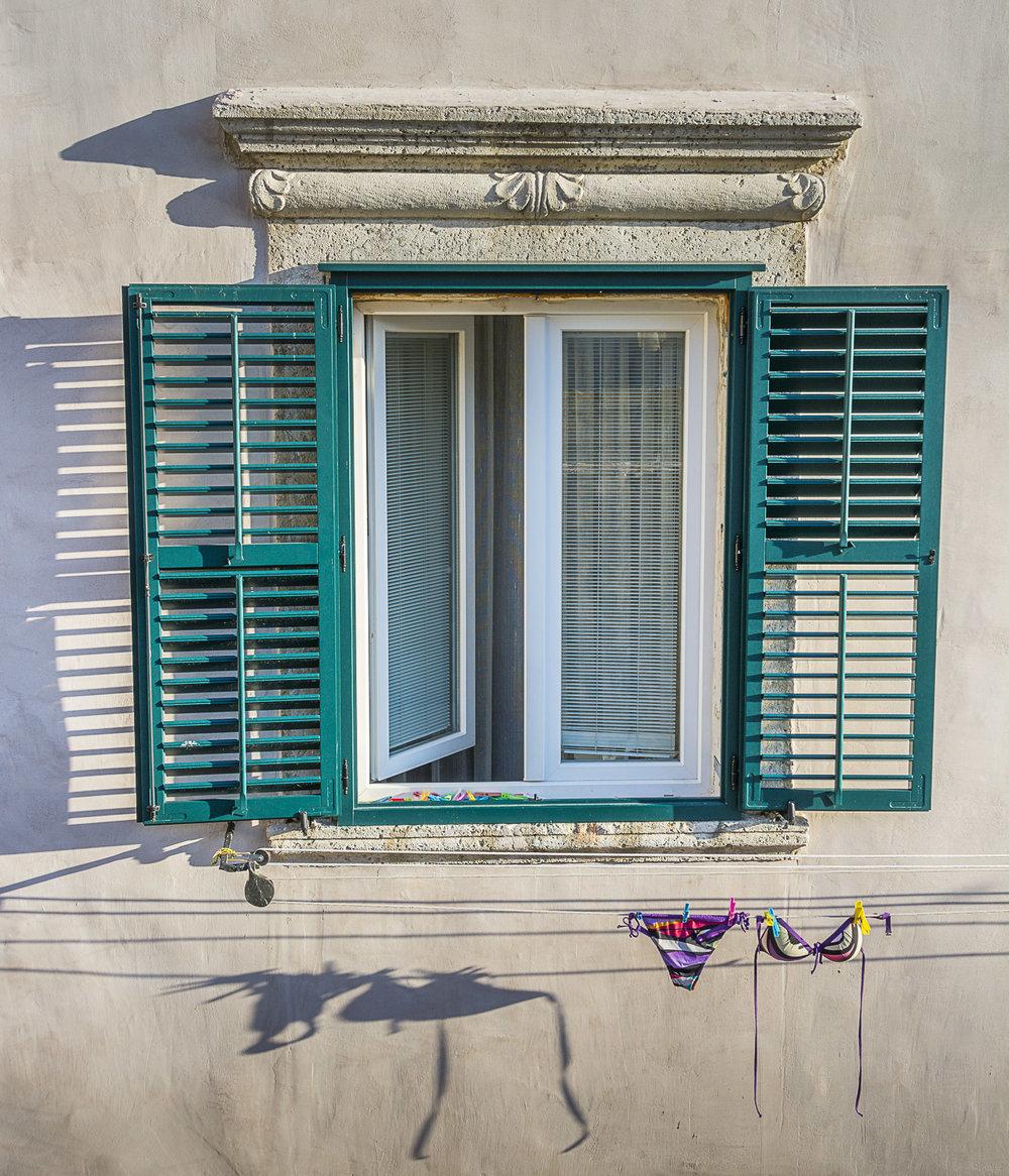 Bikini Shadow, Dubrovnik, Croatia, 2014