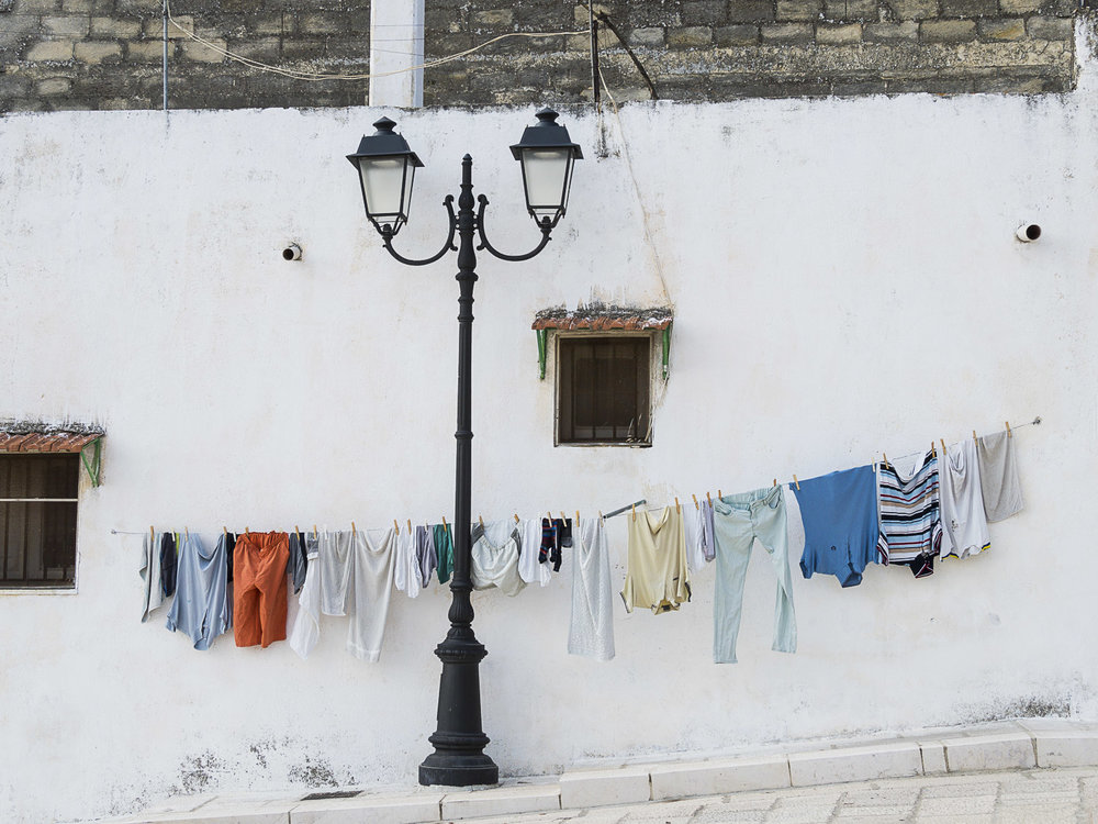 Out to Dry, Scorrano, Italy, 2015