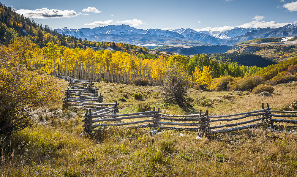 Zigzag Fence, Telluride, CO, 2011