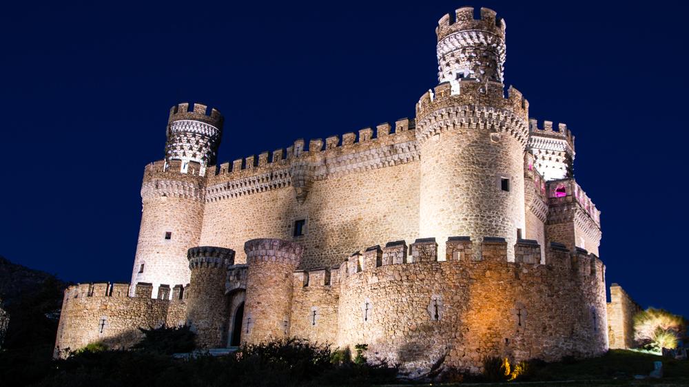 Castillo de los Mendoza - Manzanares El Real (Madrid)