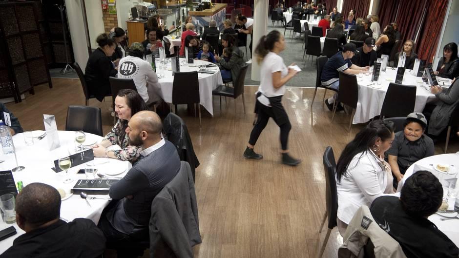 Fundraising dinner for the homeless at BOP Polytechnic.  Photo/Andrew Warner