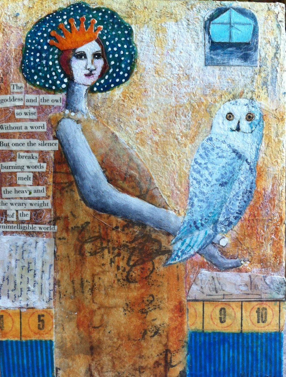 Goddess and the Owl