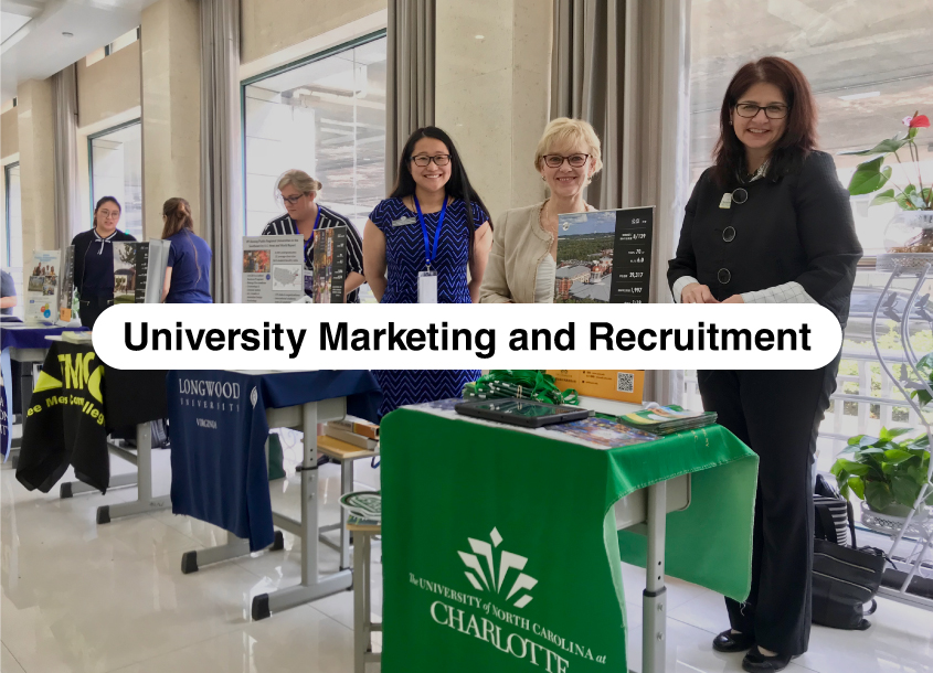 Sunrise enables colleges and universities to reach Chinese students for recruitment. Our services range from  localizing websites  and operating Chinese social media account, to  establishing face-to-face meetings  with students.