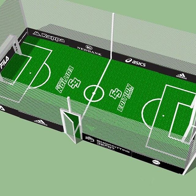 #editionsports -Design of indoor Soccer Arena