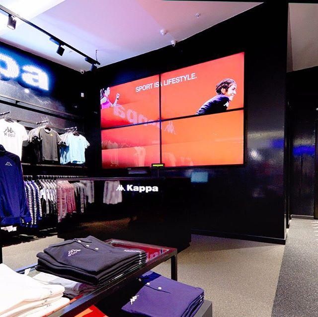 #kappa #kappa_sa #retaildesign concept store #sandtoncity
