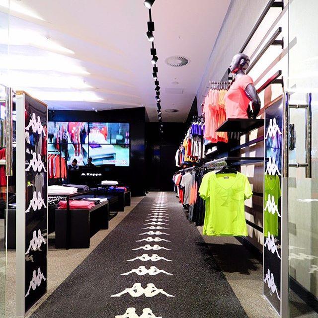 #kappa #kappa_sa concept store #sandtoncity #retaildesign