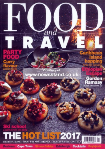 - 'Working with Woodthorpe Comms is always a pleasure. They pitch stories and brands that fit our audience and are always quick to get images and information over when we need it. The team understand what we need and how to deliver it.'Gregor Rankin, Publisher at Food and Travel MagazineFood & Travel Magazine