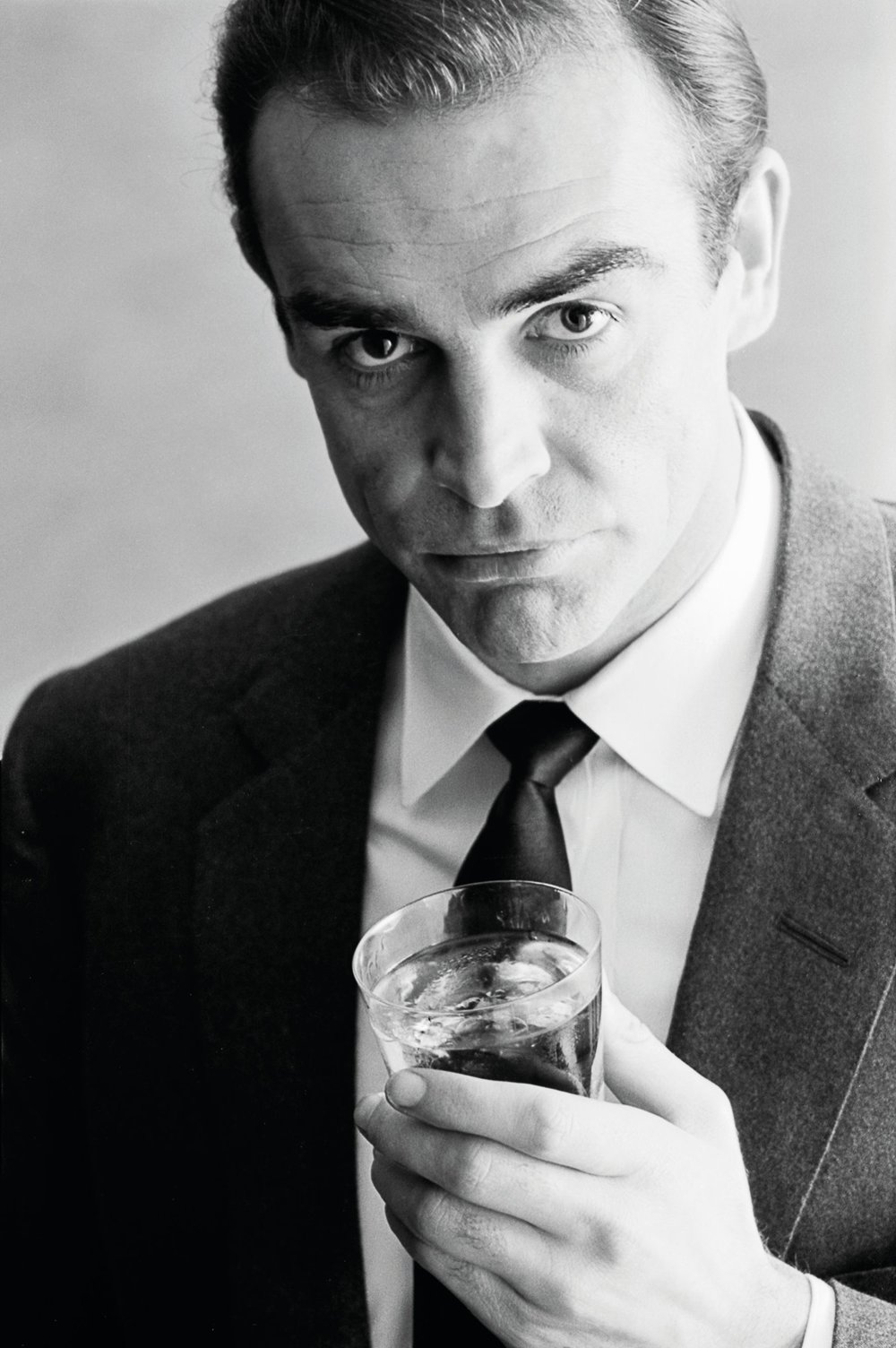 Sean Connery, Advertising Shoot for Smirnoff Vodka, 1962