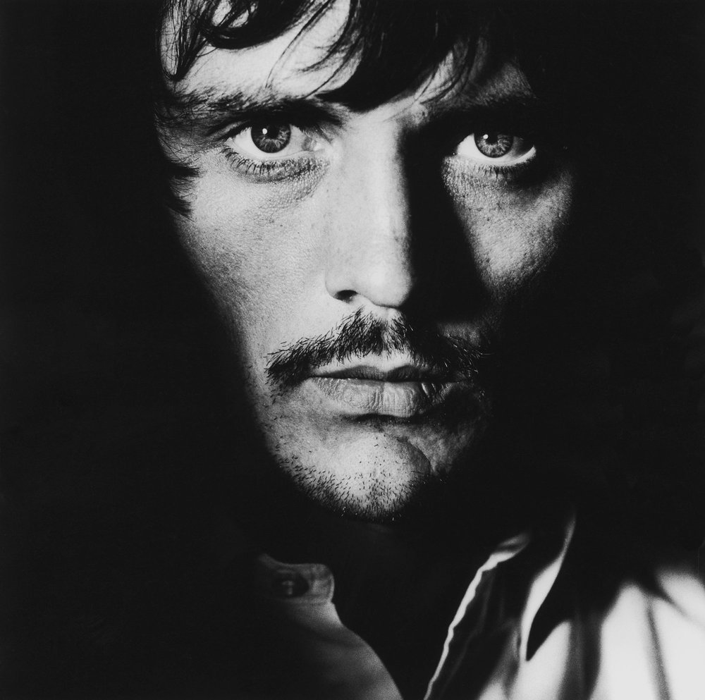 Terence Stamp on the Set of John Schlesinger's 'Far From The Madding Crowd', 1967
