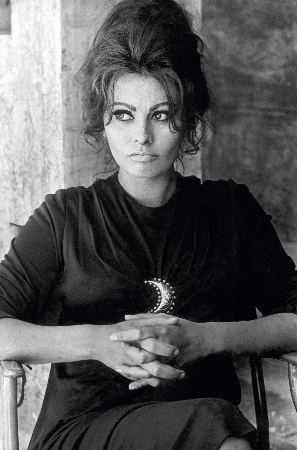 Sophia Loren on the set of Anthony Mann's 'The Fall of the Roman Empire', Spain, May 1963 - for Queen Magazine