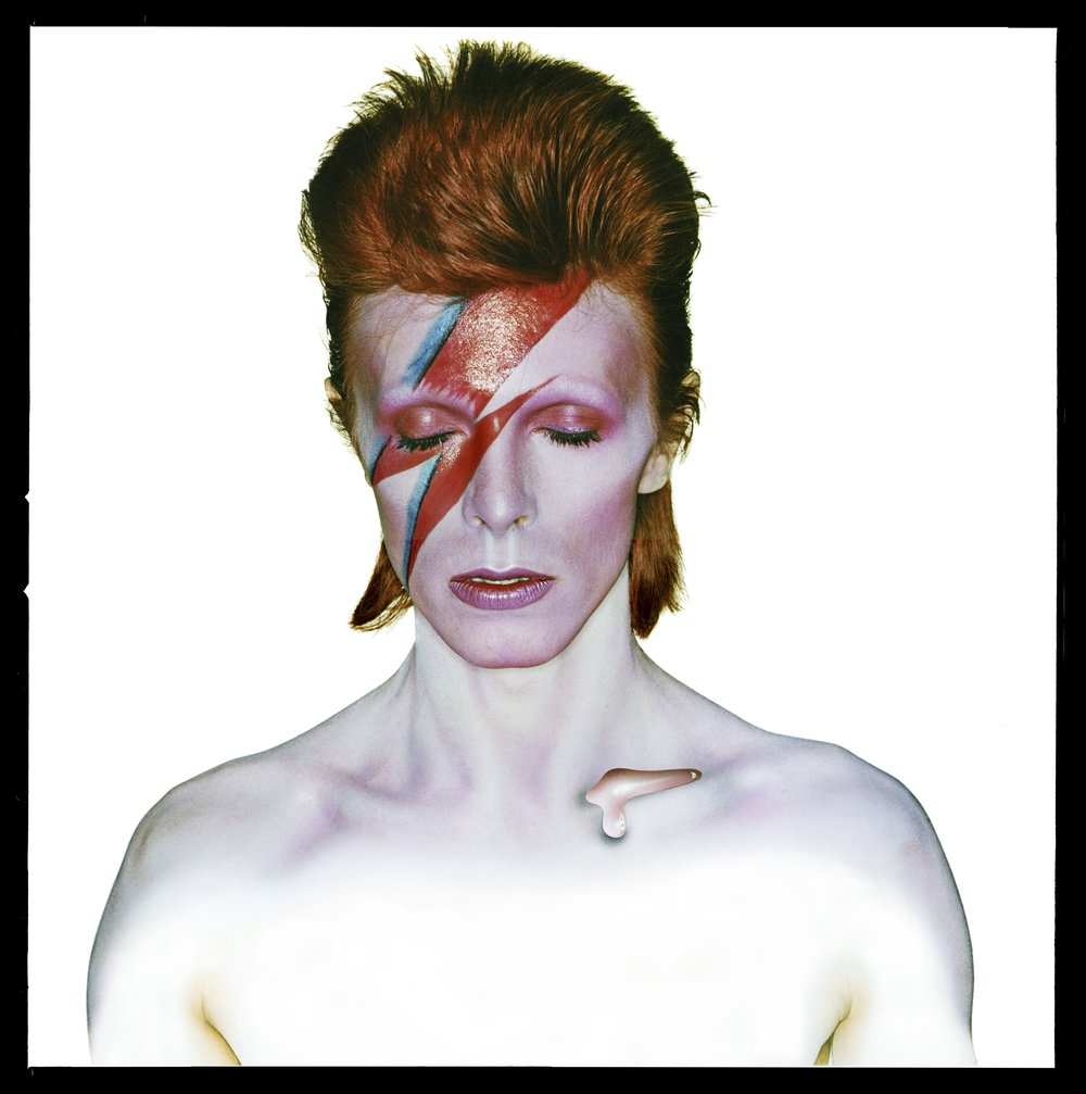 David Bowie: Aladdin Sane (Album Cover), 1973