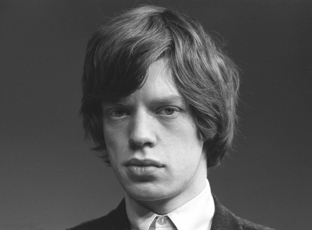 Mick Jagger Close Up, London, 1964